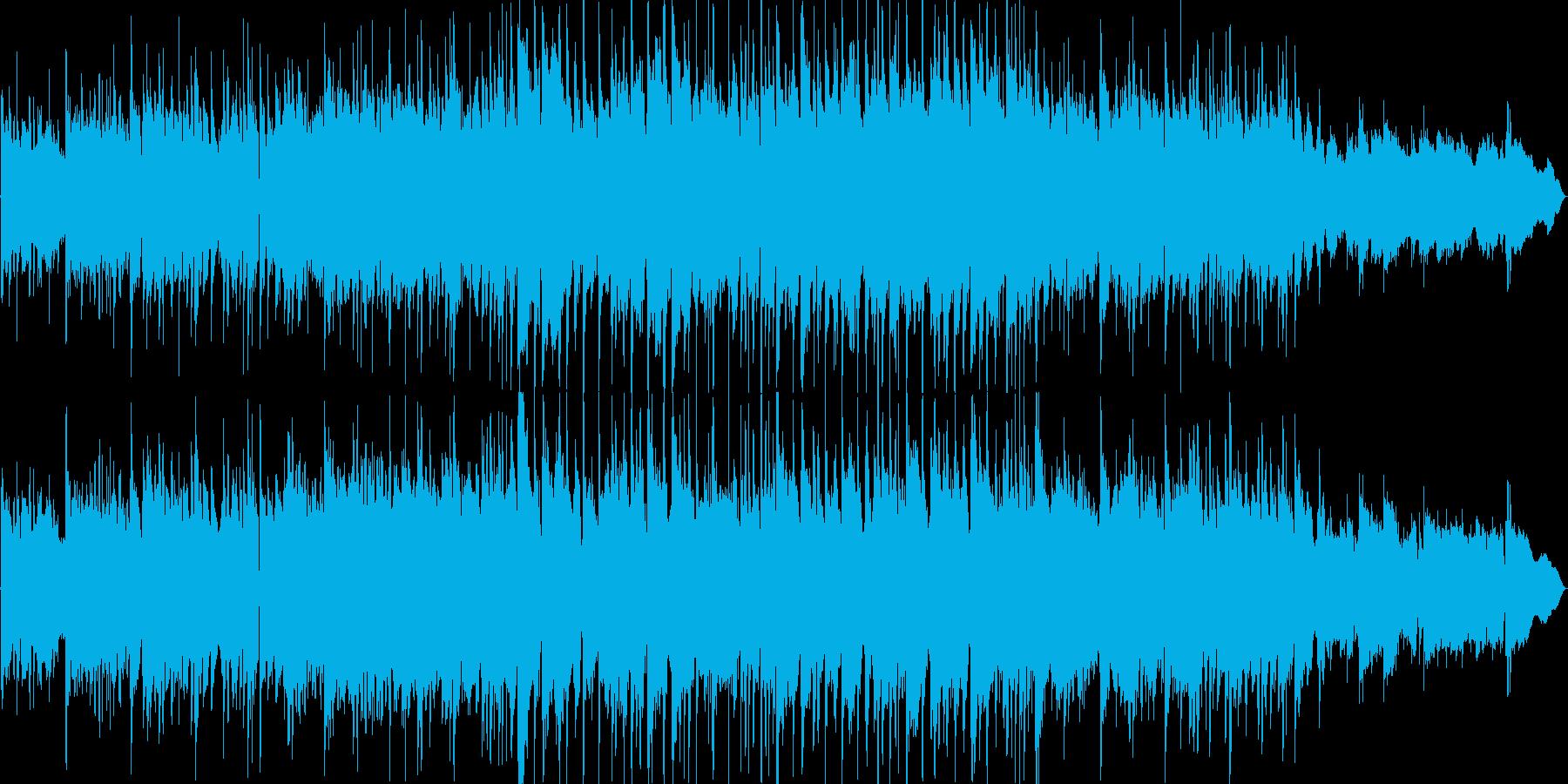 やさしく力強いアコースティックなロックの再生済みの波形