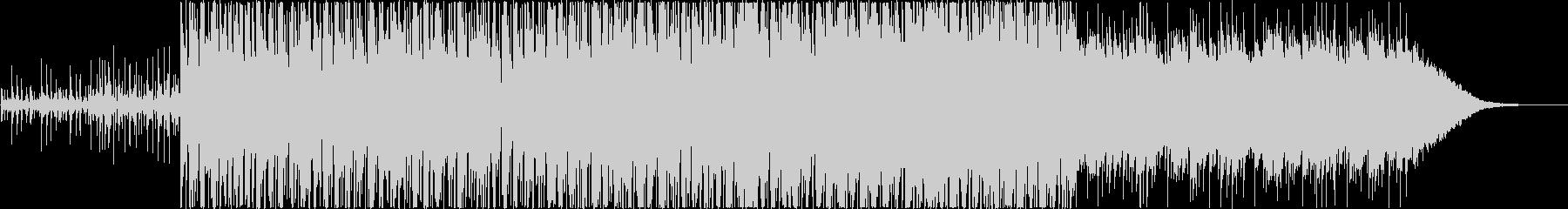 前向きな南国トロピカル風BGMですの未再生の波形