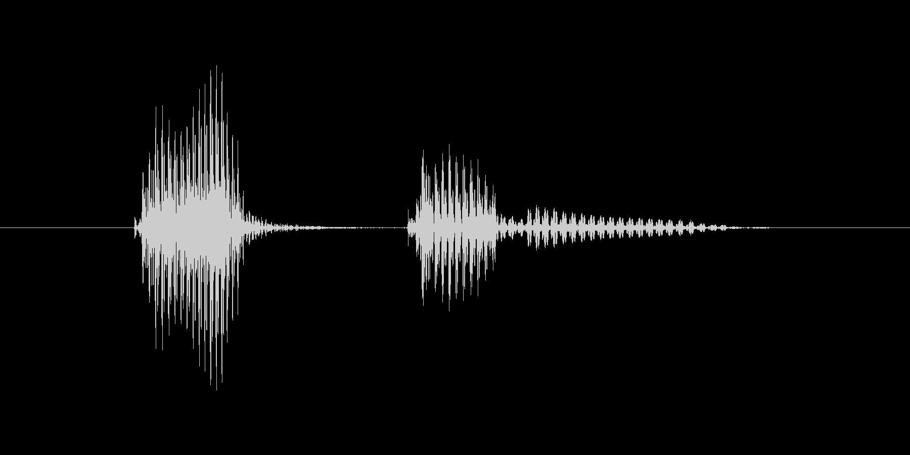 バッテリーの未再生の波形
