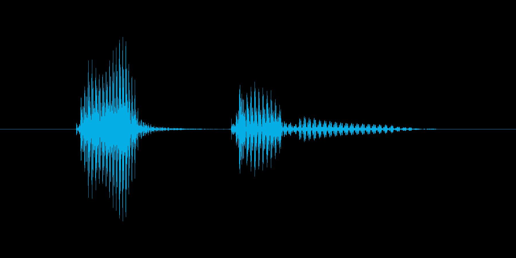 バッテリーの再生済みの波形
