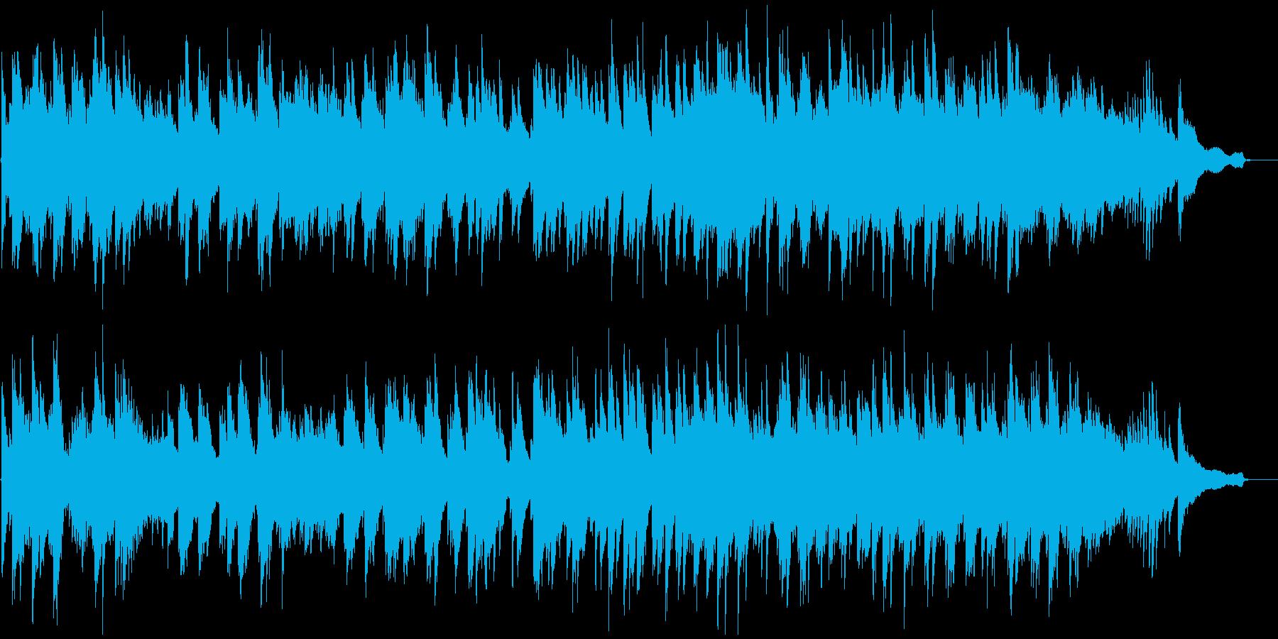 前抜きな明るいピアノソロの再生済みの波形