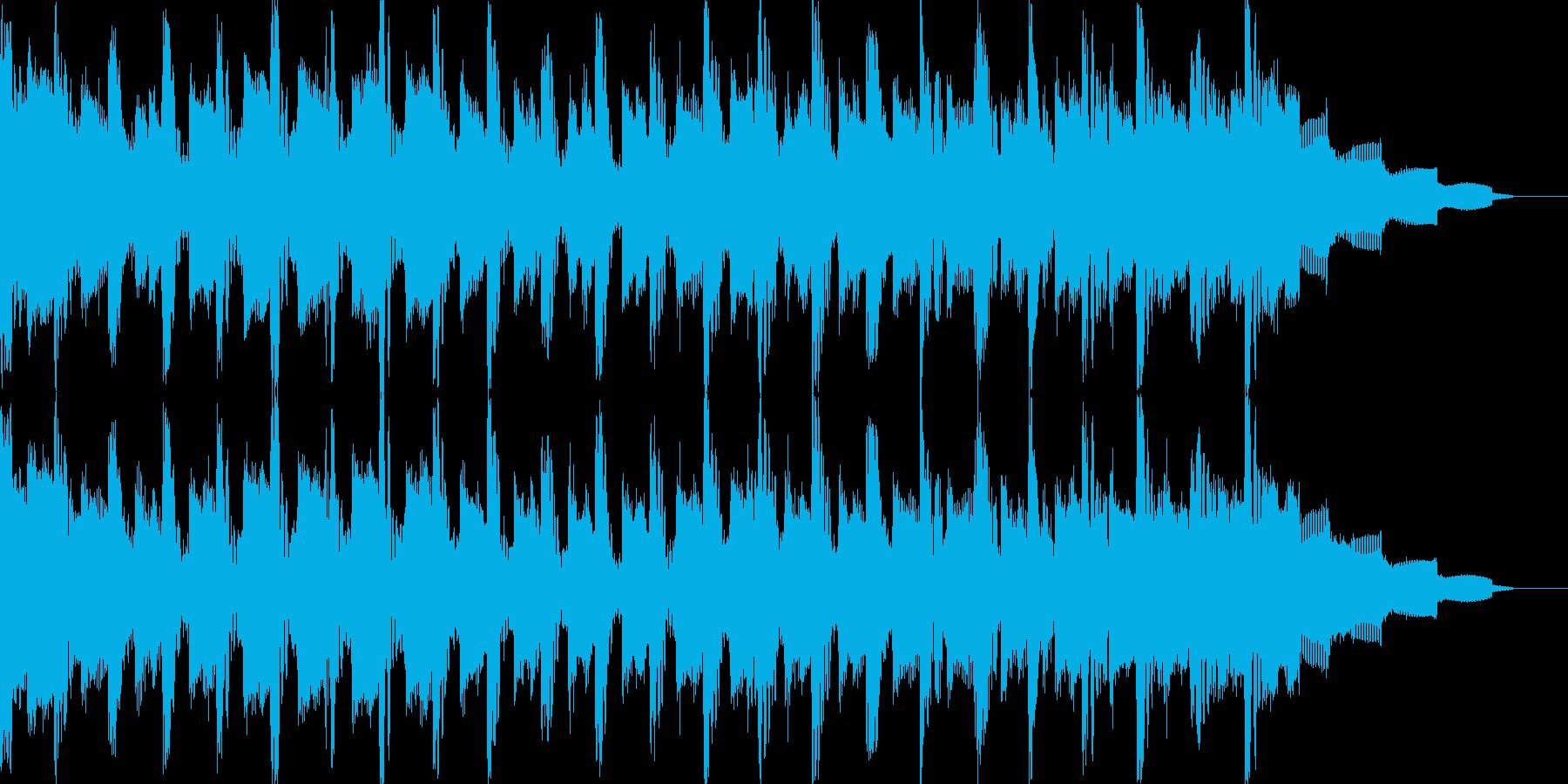 情熱的なテクノポップの再生済みの波形