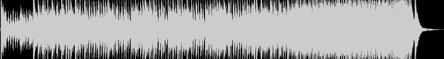 アラビア風の雰囲気のBGM3の未再生の波形