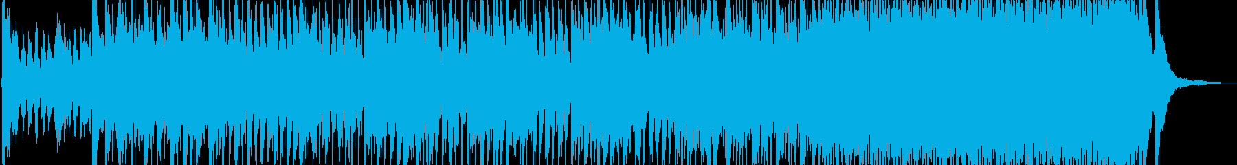 アラビア風の雰囲気のBGM3の再生済みの波形