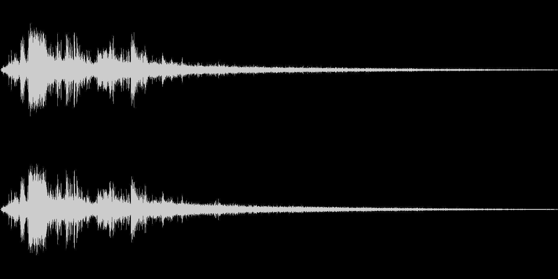 岩が崩れる音 (1)の未再生の波形