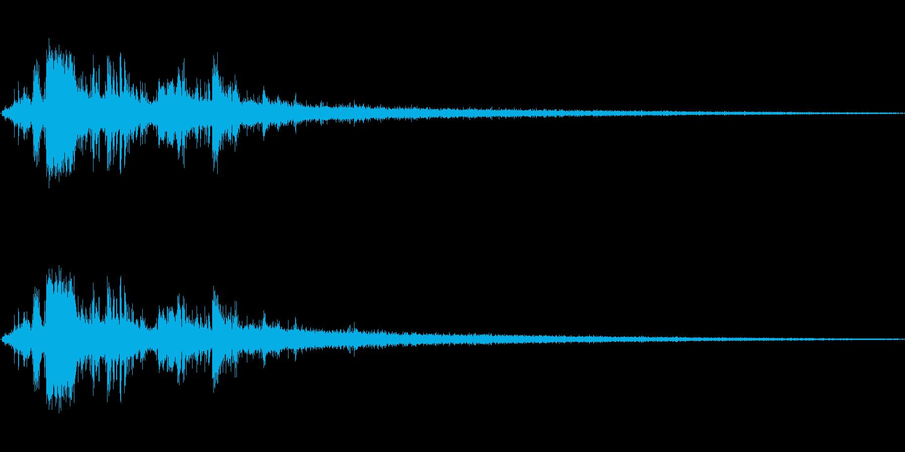 岩が崩れる音 (1)の再生済みの波形