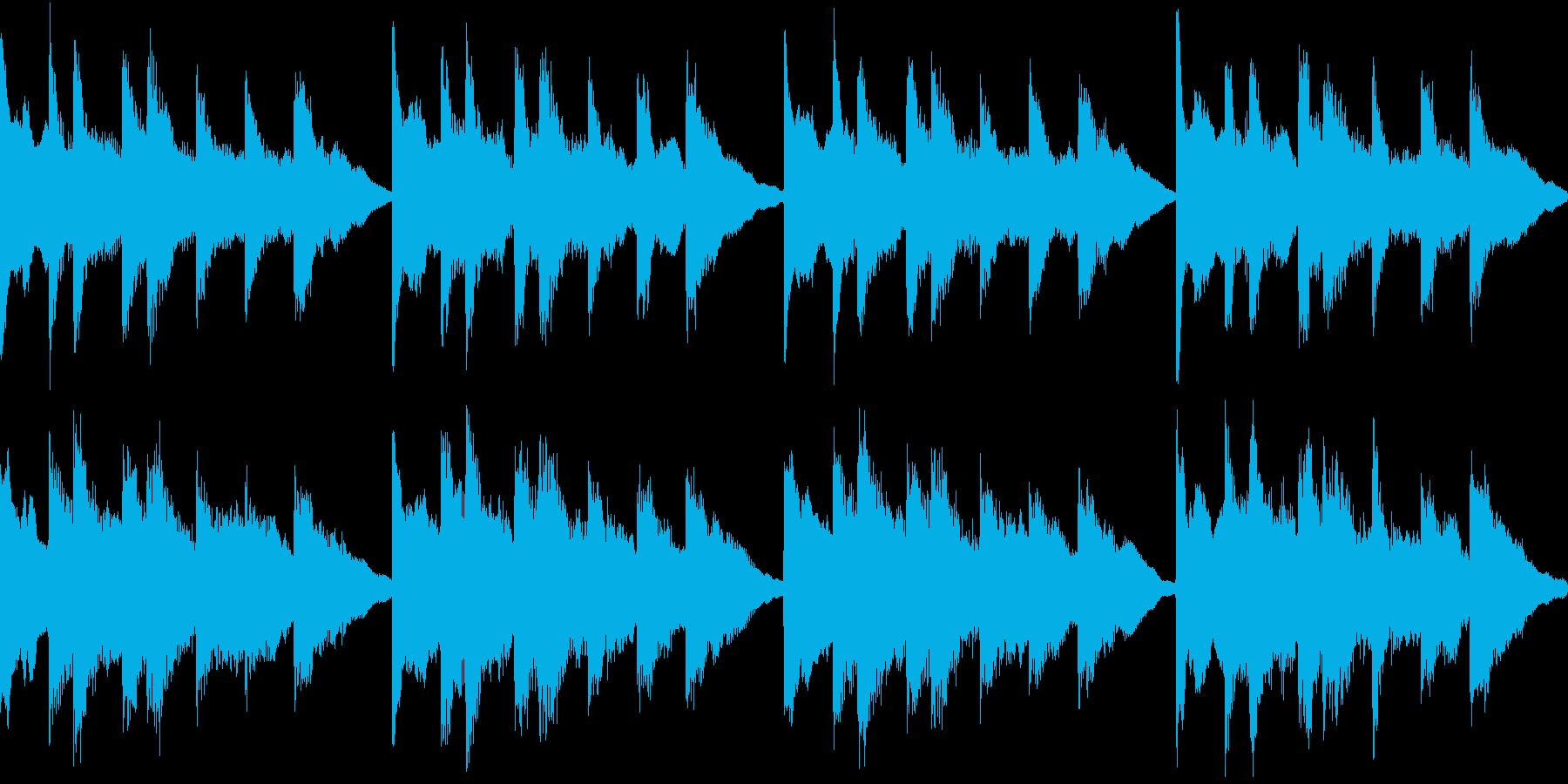 シンプル ベル 着信音 チャイム A15の再生済みの波形