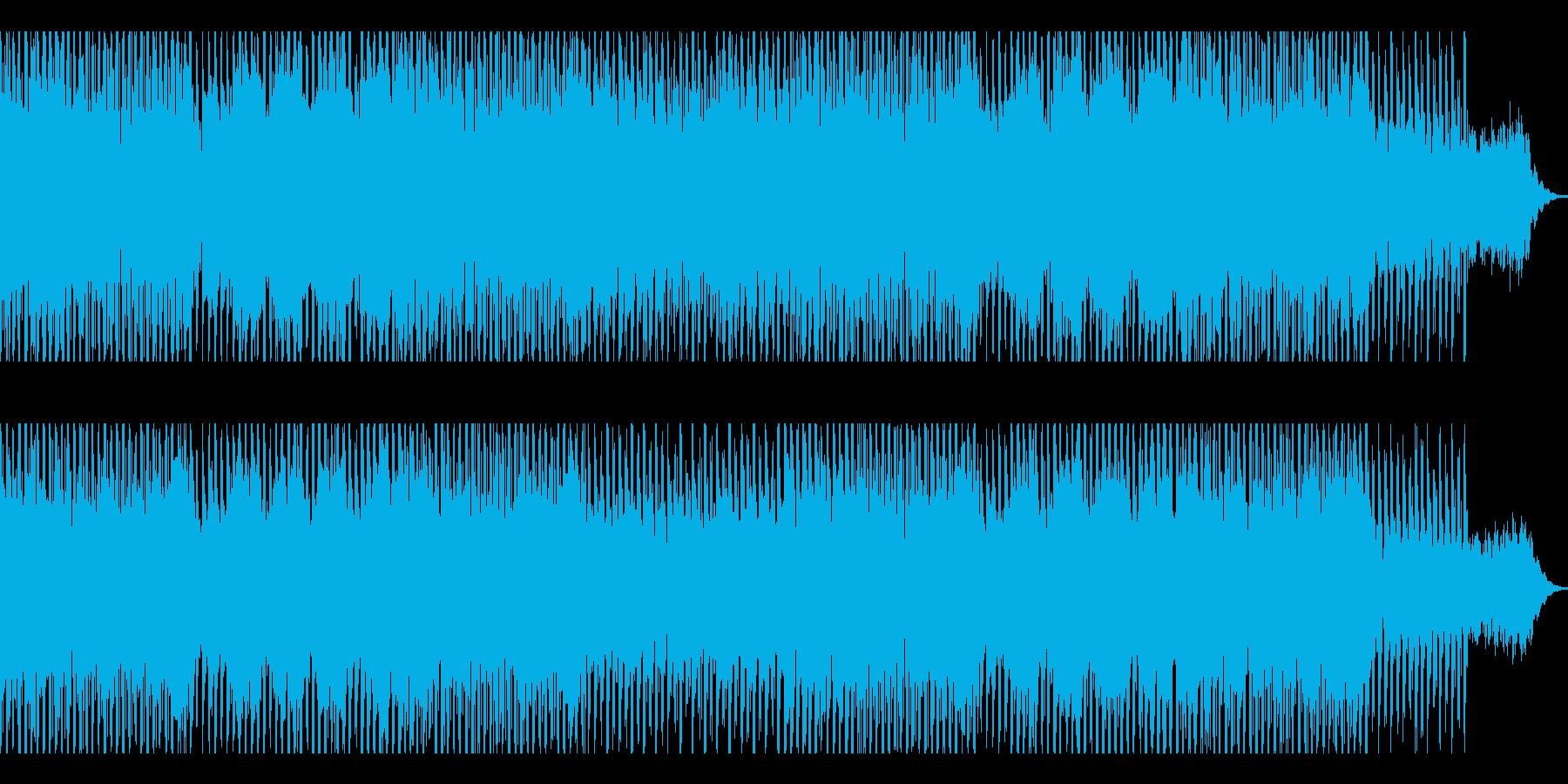 ダークでカッコイイ怪しい雰囲気な曲の再生済みの波形