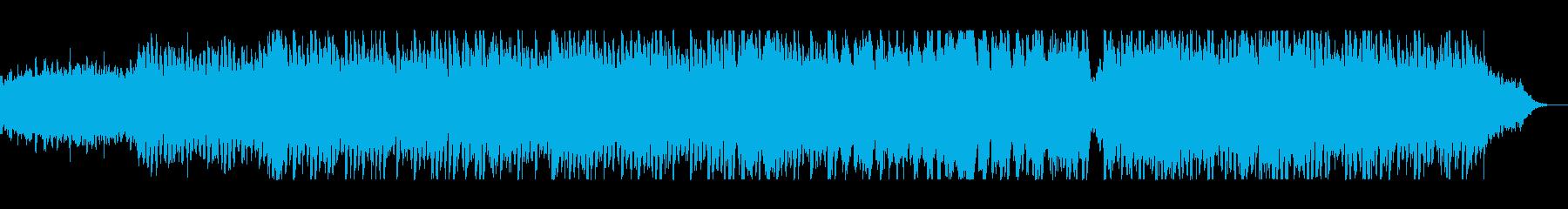 さわやかで広がりのあるストリングス曲の再生済みの波形