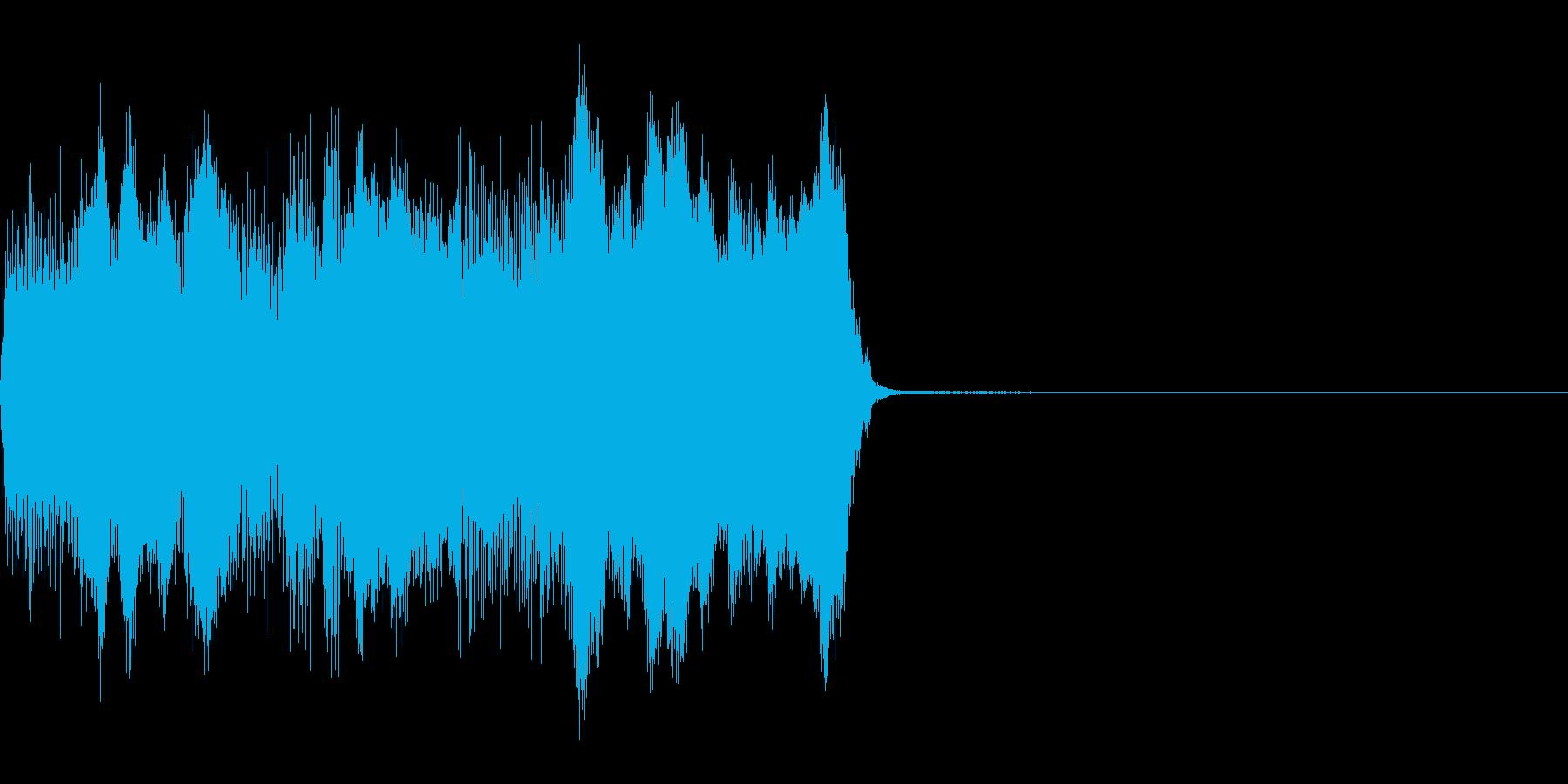 コックピットなどの細かい電子音_09の再生済みの波形
