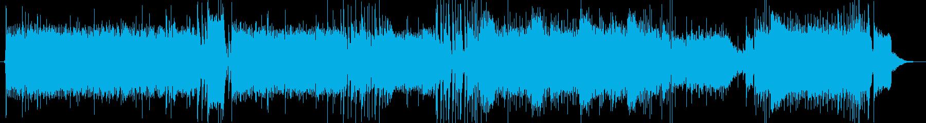 スピード感のあるジャズですの再生済みの波形