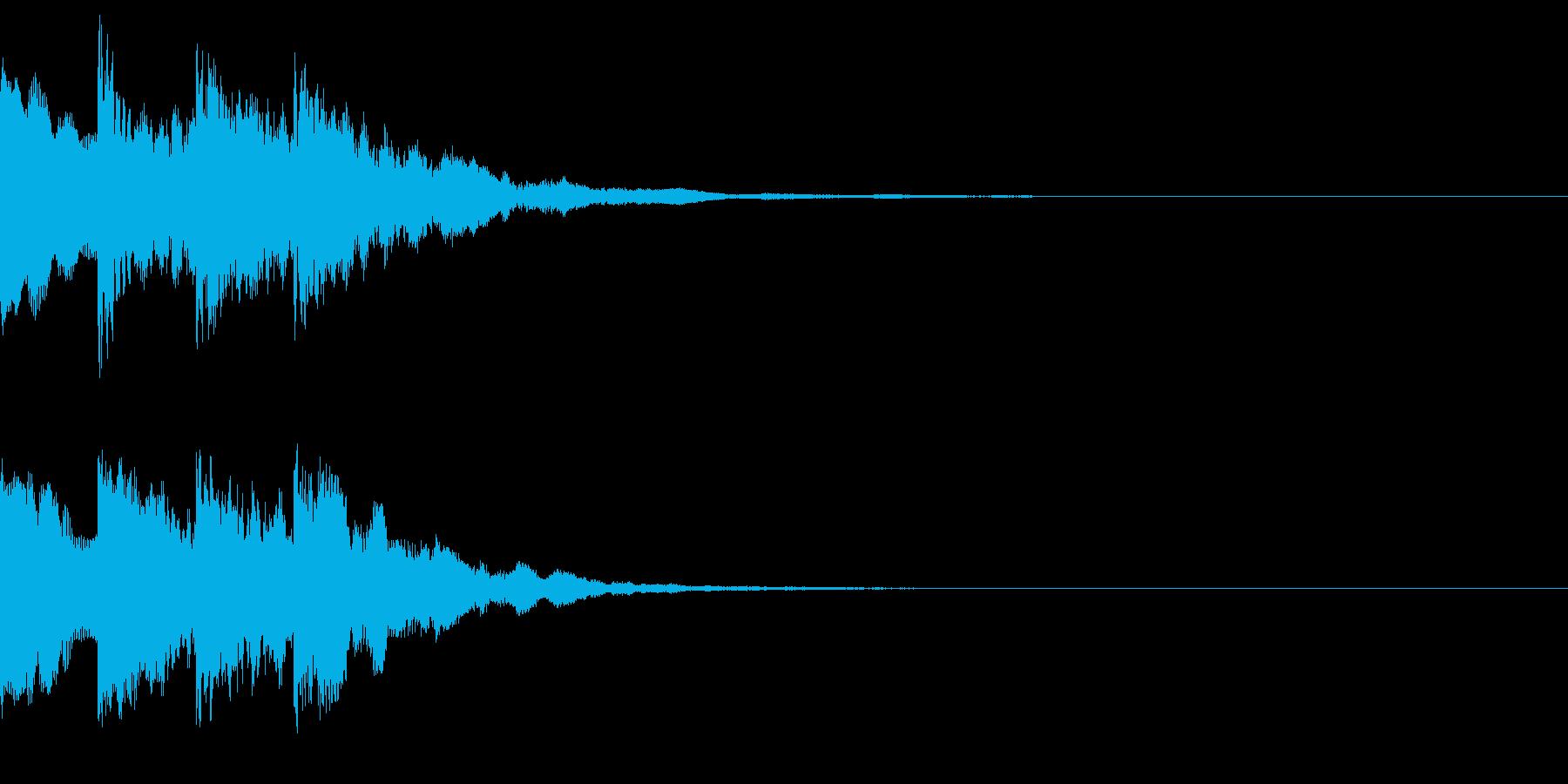 ピンポンパンポーン(呼び出し音)の再生済みの波形