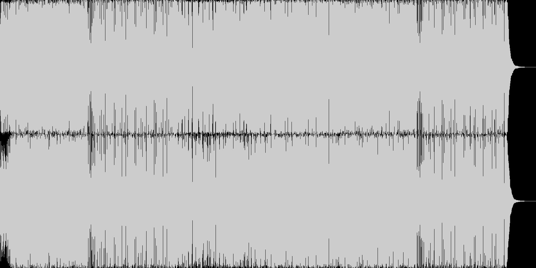 【和風ロック】忍者の里~甲賀~の未再生の波形