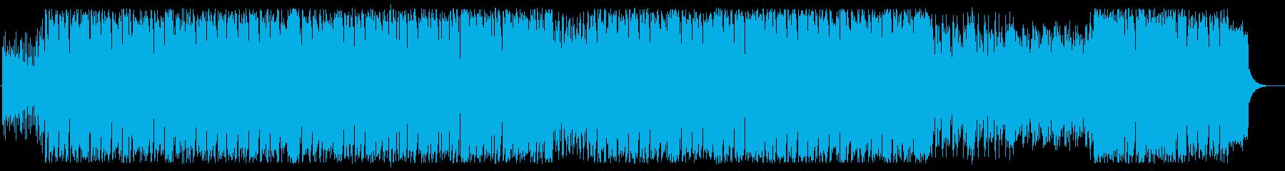 エスニックなフュージョンポップの再生済みの波形