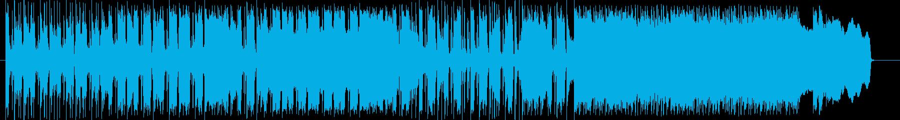 ワイルドかつストイックなブルースロックの再生済みの波形