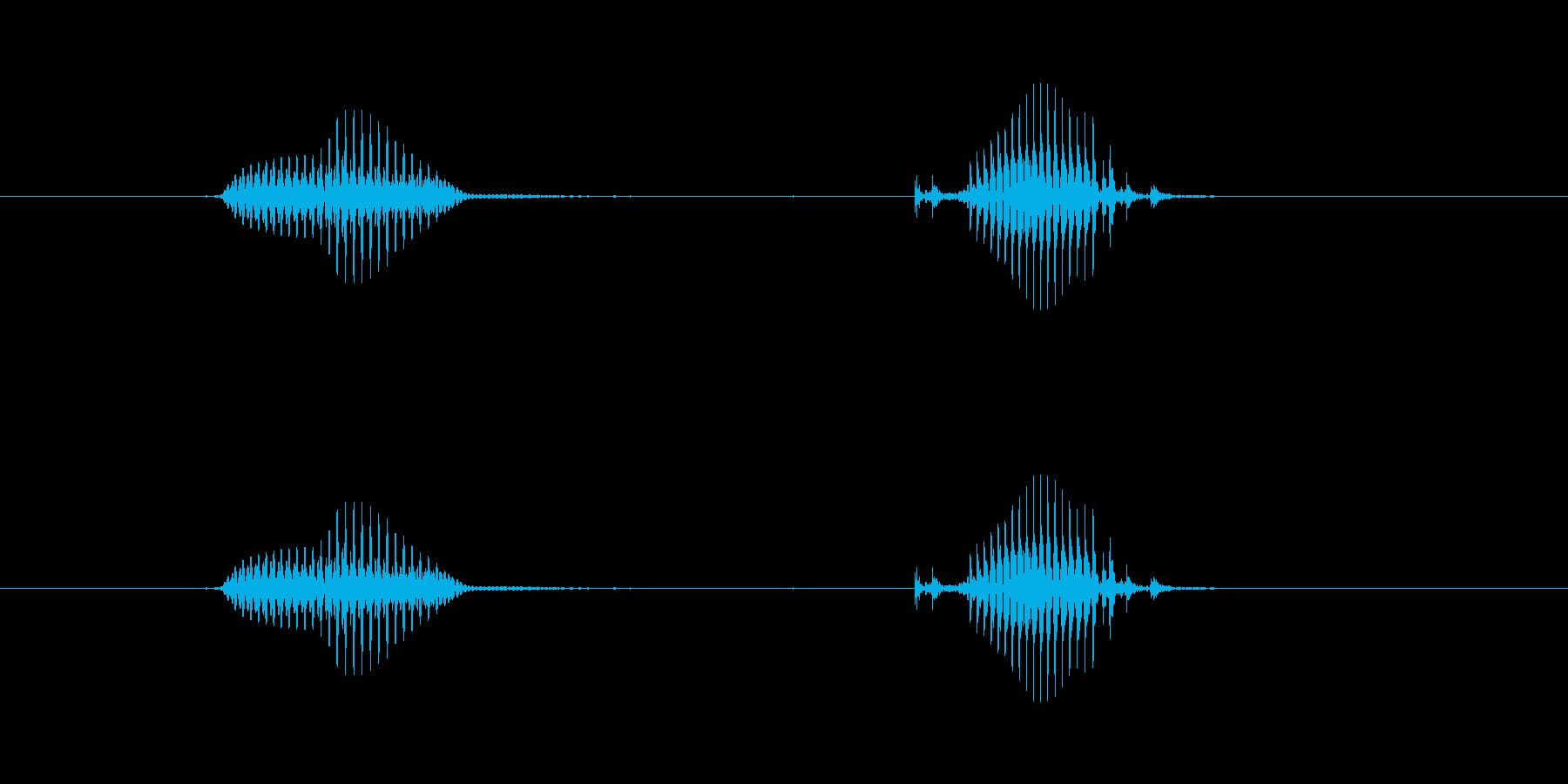 【日】3日の再生済みの波形