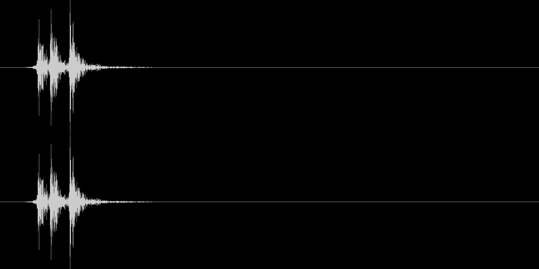 ガッ(車、ブレーキ、レバー)の未再生の波形