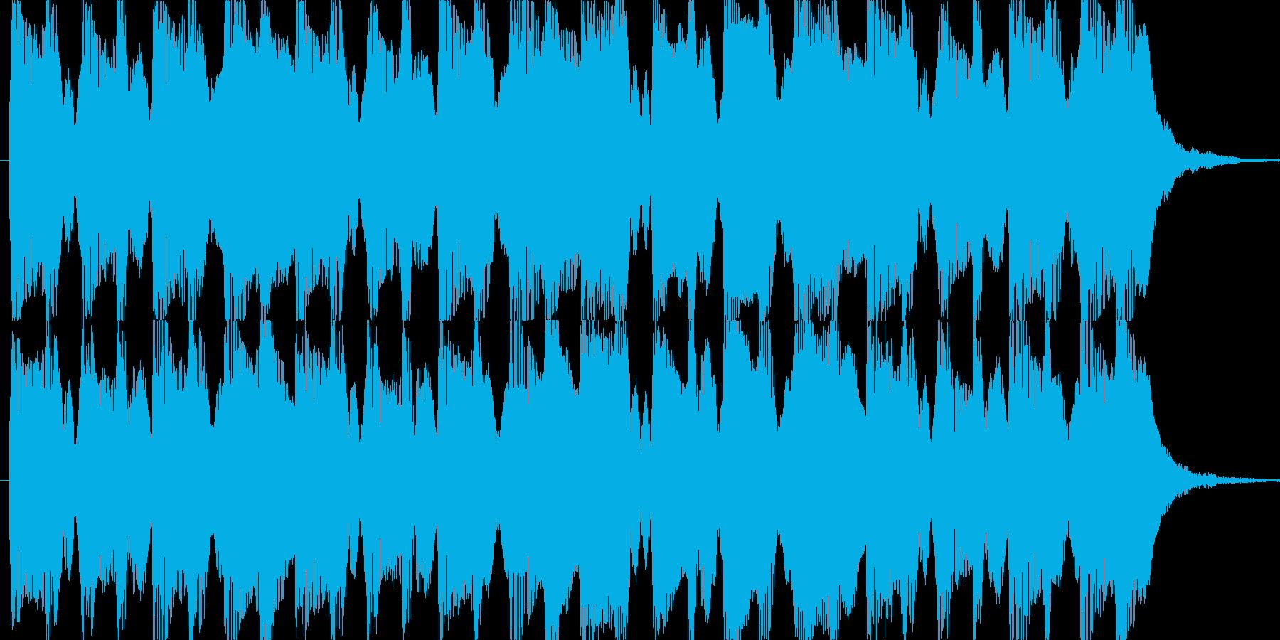 不思議なイメージです。の再生済みの波形