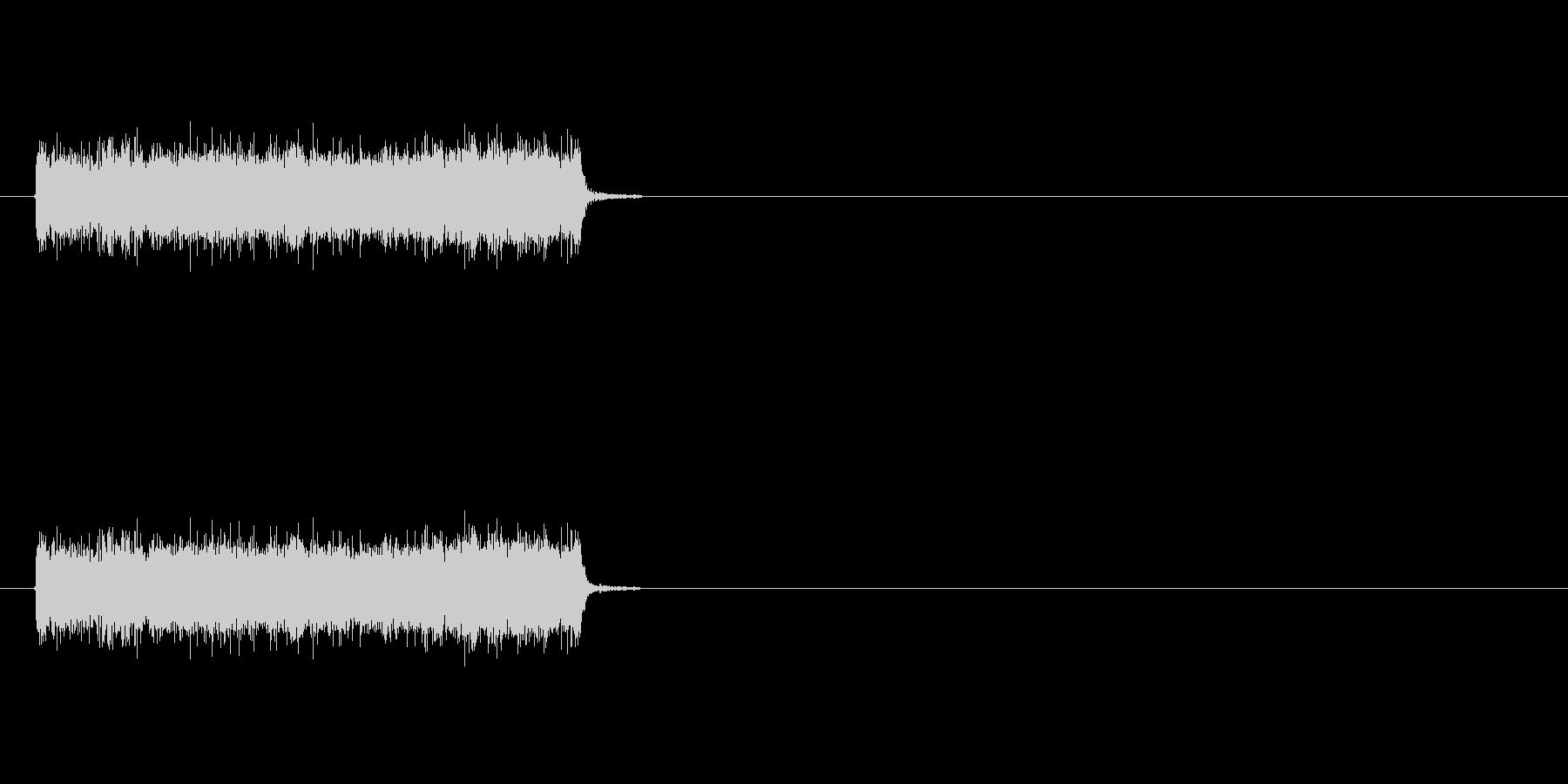 ロック曲等に使えるエレキギター効果音1の未再生の波形