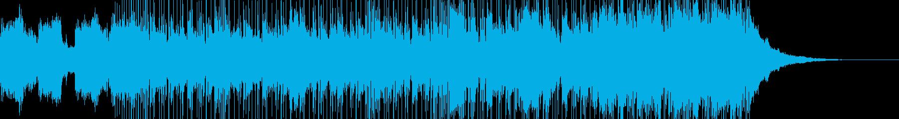 尺八やシタールなど和風なファンタジーの再生済みの波形