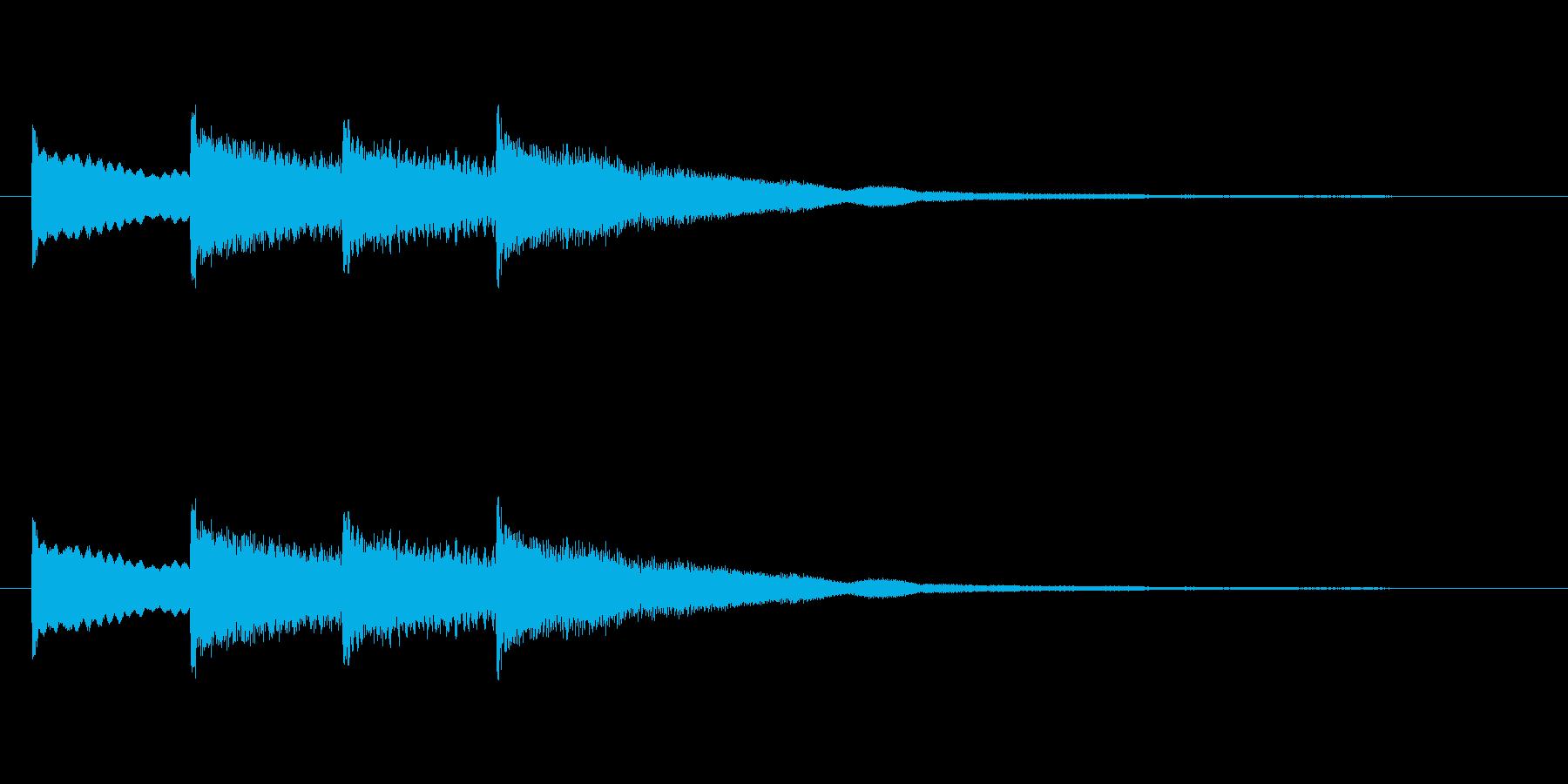 【チャイム 学校03-03】の再生済みの波形