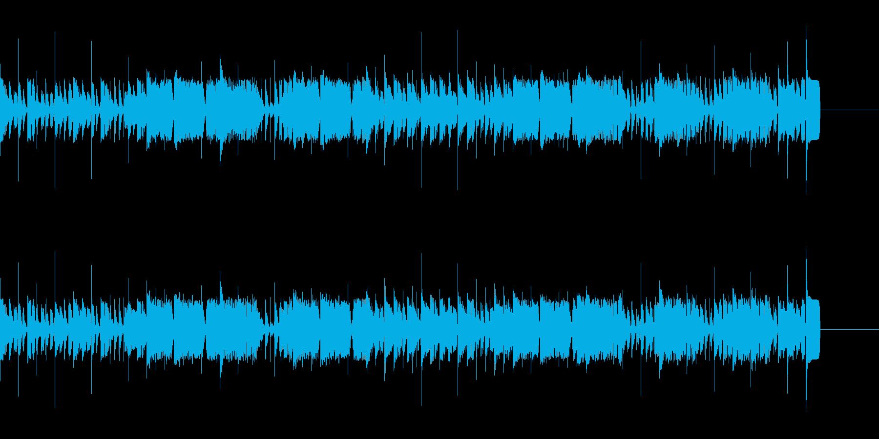 【パンチあり】ホーンセクションメインの曲の再生済みの波形