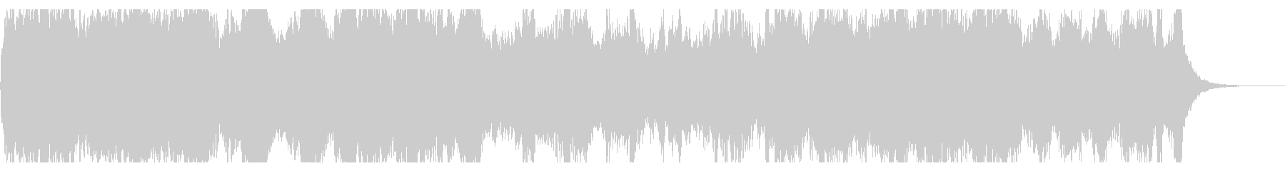 勇壮なファンタジックなオーケストラBGMの未再生の波形