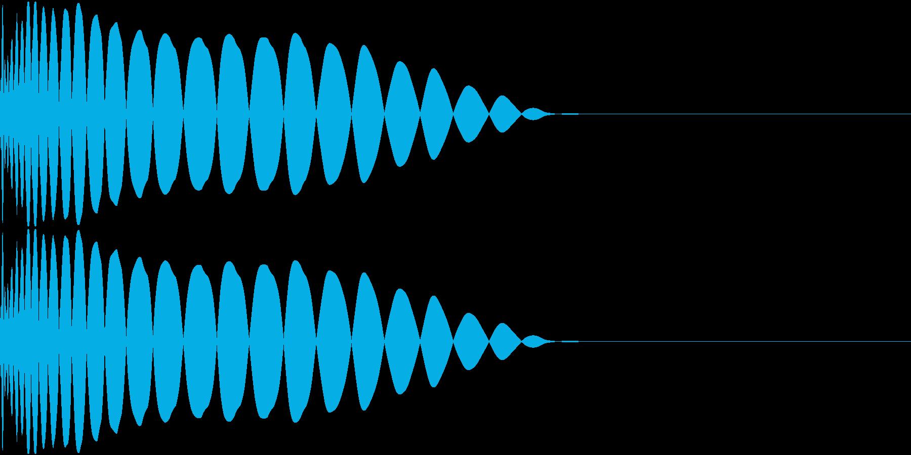 DTM Kick 54 オリジナル音源の再生済みの波形