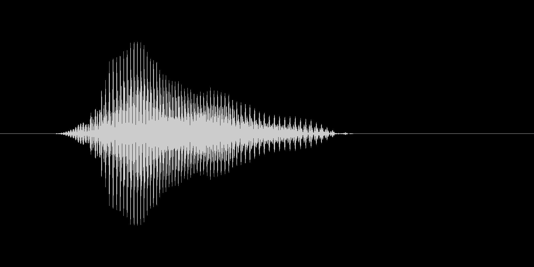 v,V,V(ヴィー)の未再生の波形