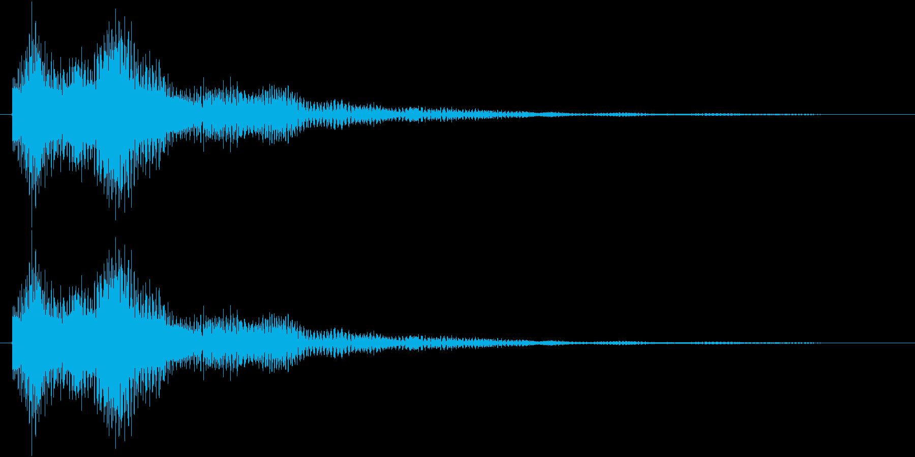 サウンドロゴ、ジングルの再生済みの波形