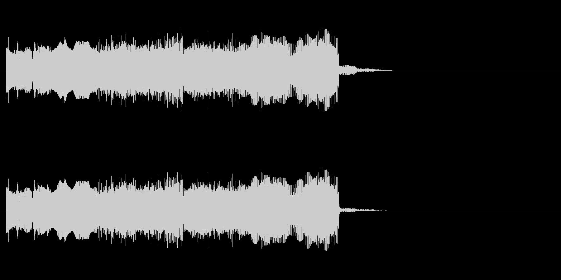 チャラリー(トッカータ)ハードギターの未再生の波形