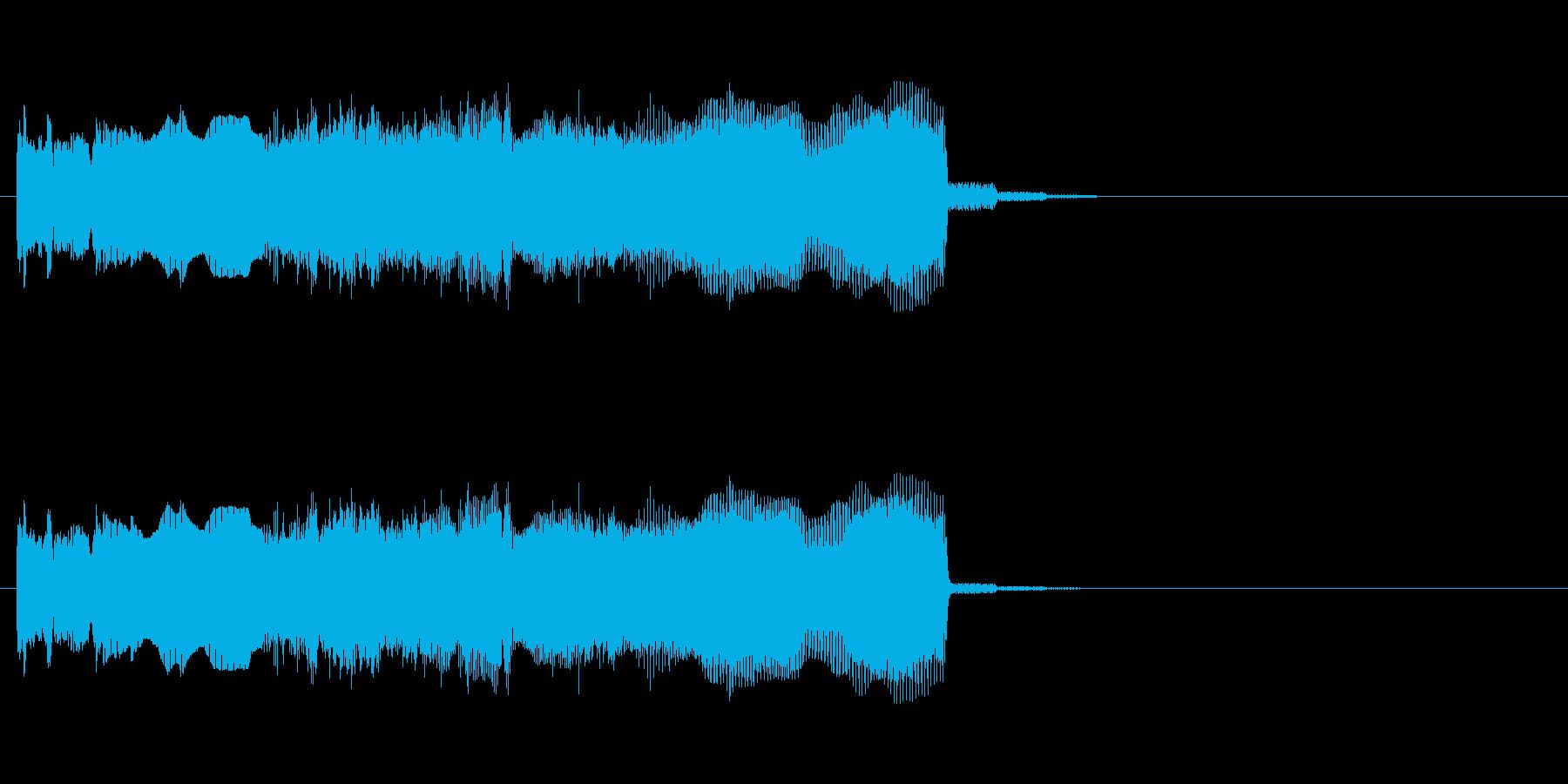 チャラリー(トッカータ)ハードギターの再生済みの波形