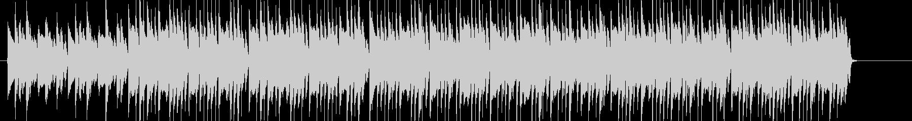 CMに合いそうな軽快な音楽(ボサノバ)の未再生の波形