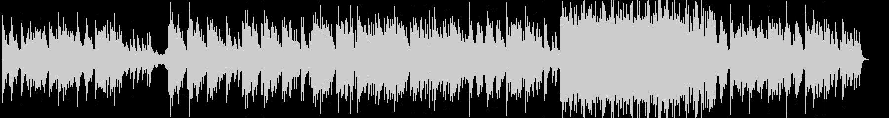 感動的で少し切ないピアノエレクトロニカの未再生の波形