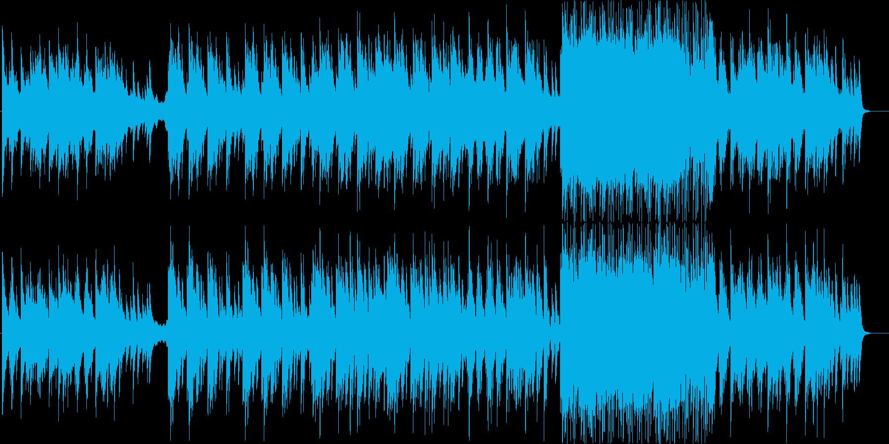 感動的で少し切ないピアノエレクトロニカの再生済みの波形