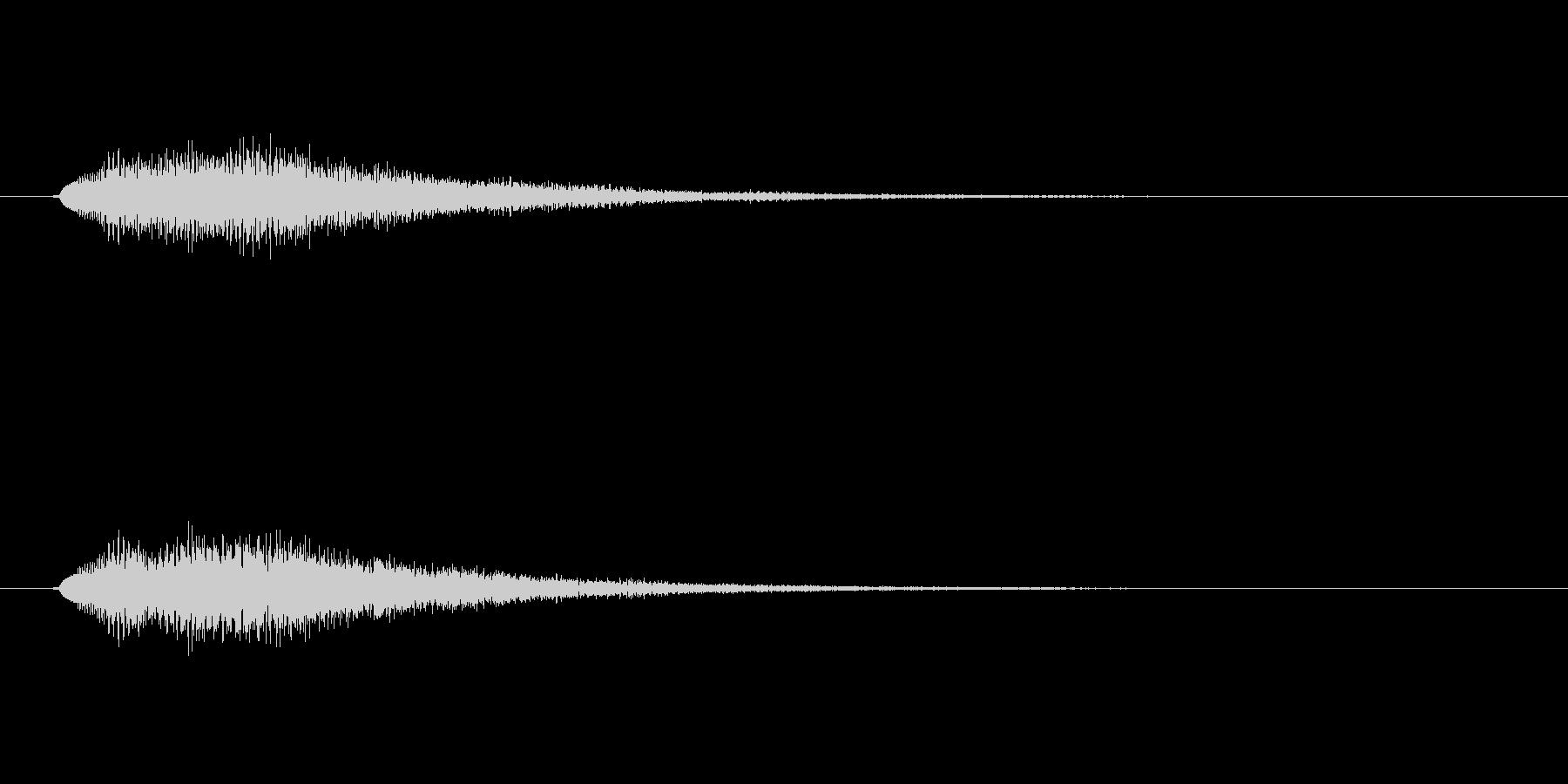 【ショートブリッジ27-10】の未再生の波形