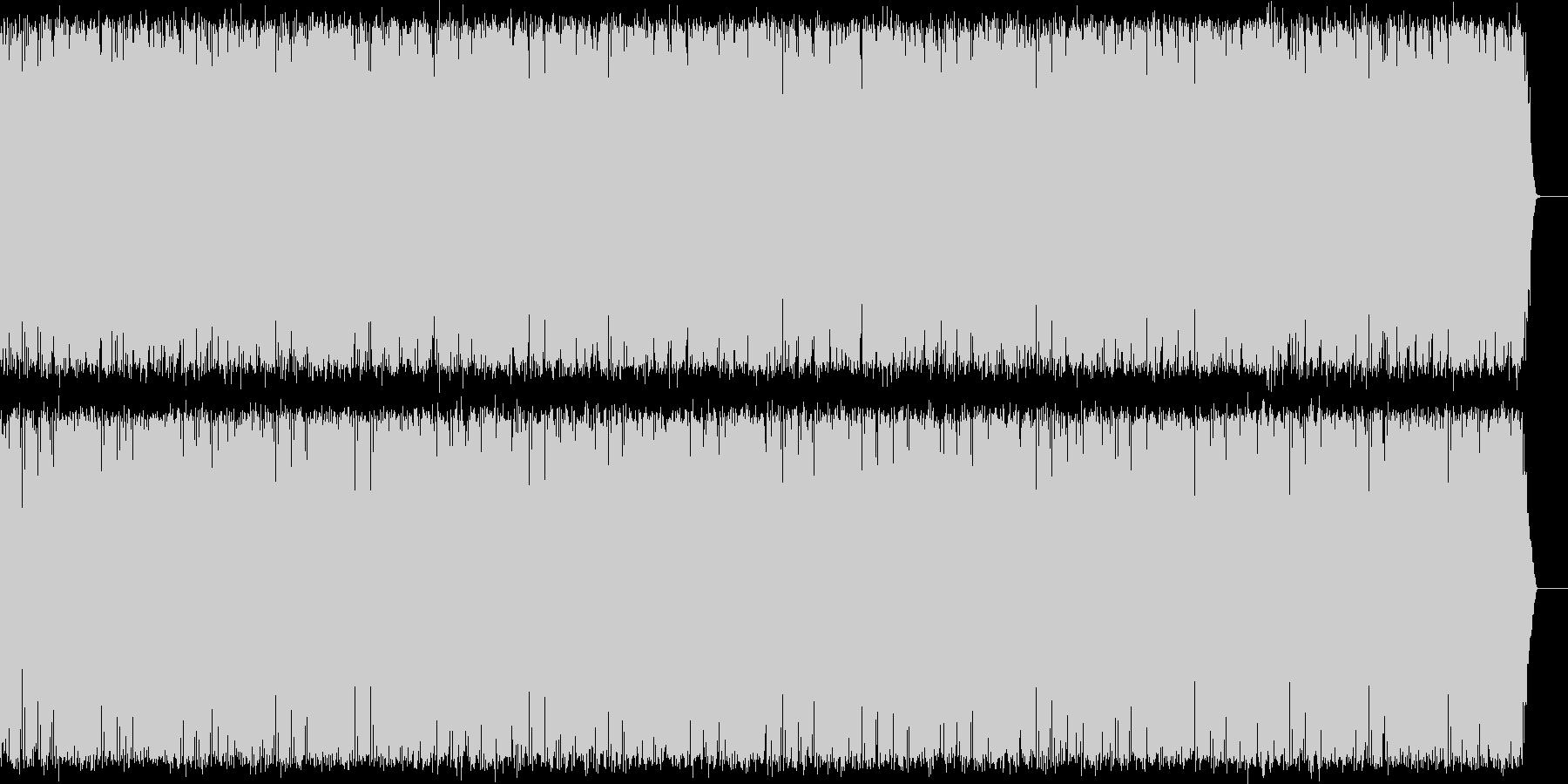 エレクトロニカ風BGM。映像、動画、VPの未再生の波形