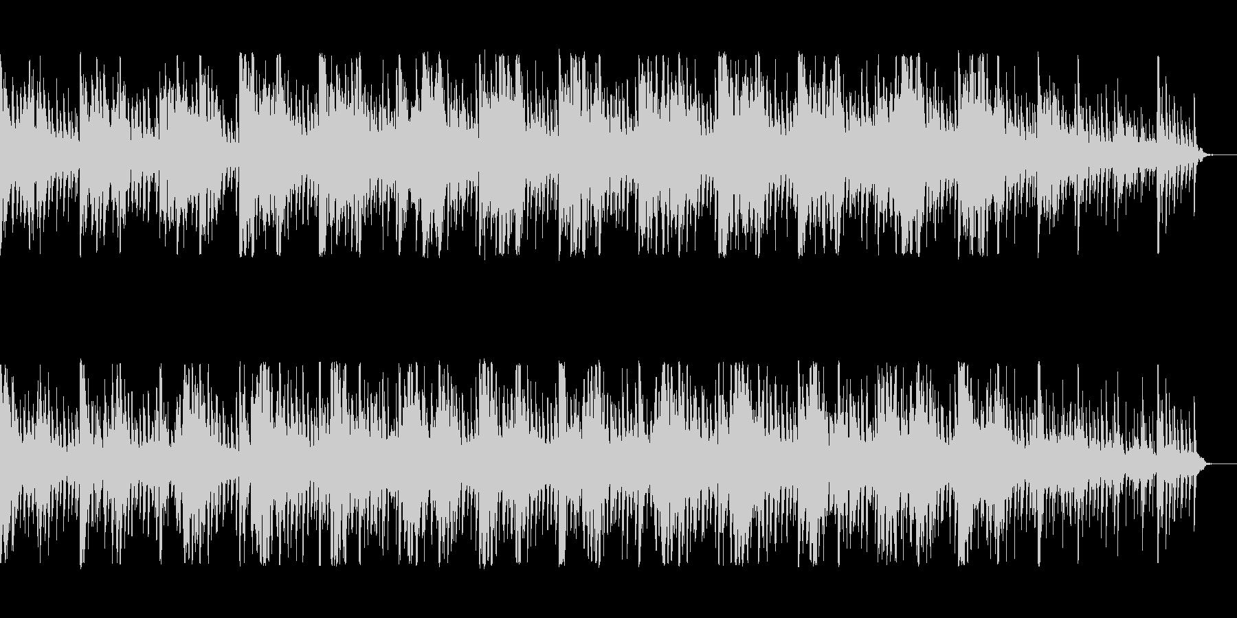 幻想的な変拍子のミニマルの未再生の波形