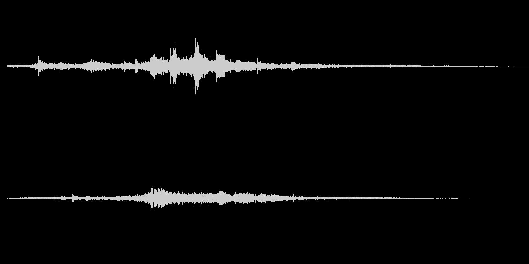 【SE 効果音】奇妙な音11の未再生の波形