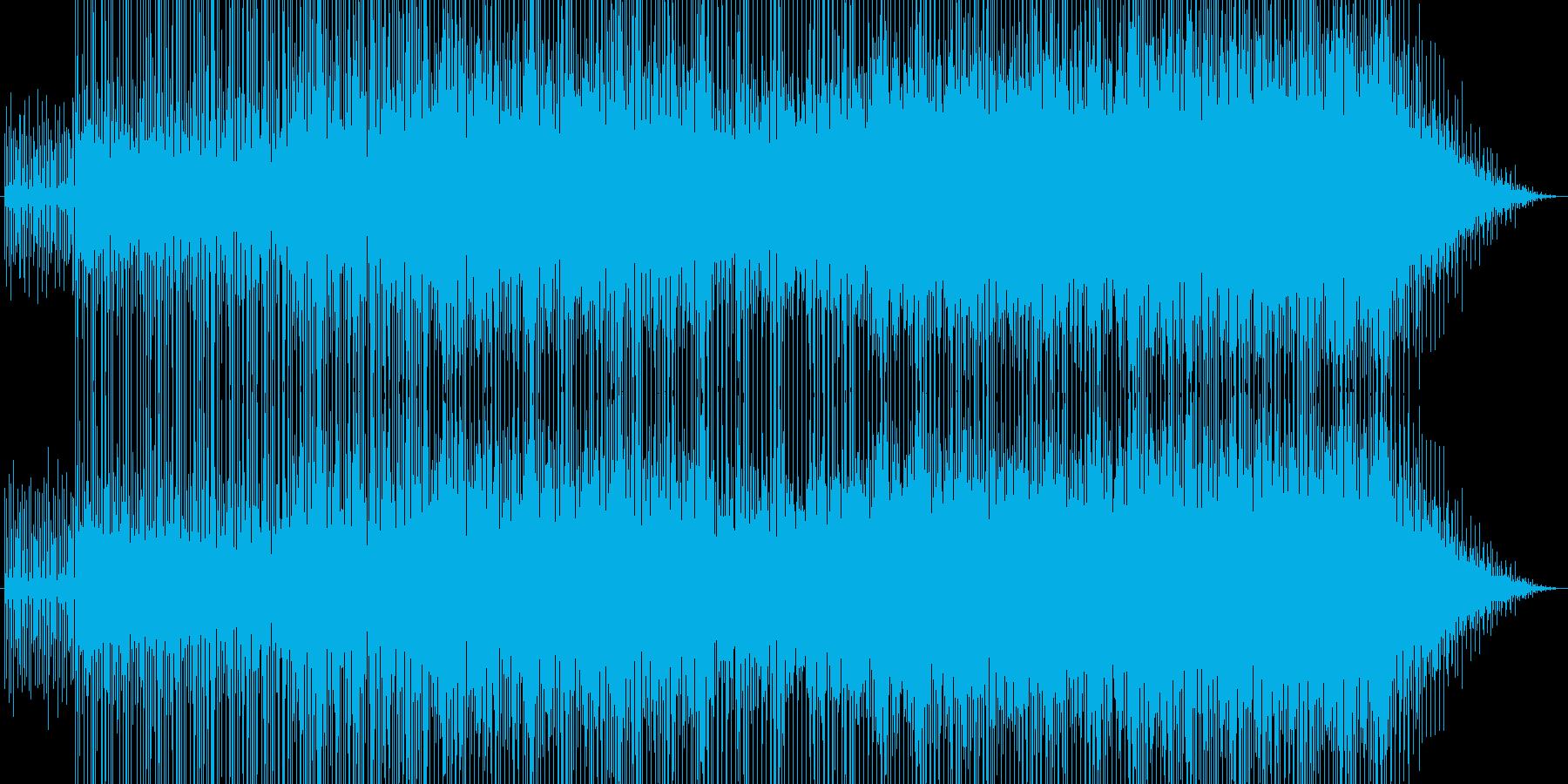 爽快エレクトロポップの再生済みの波形