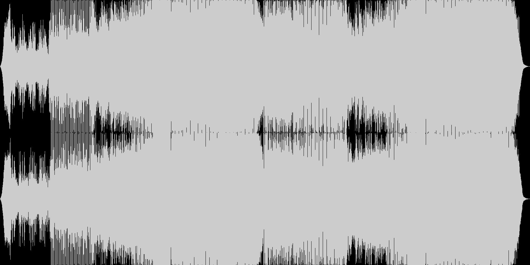 少し切なく勢いの在るハウスミュージック。の未再生の波形