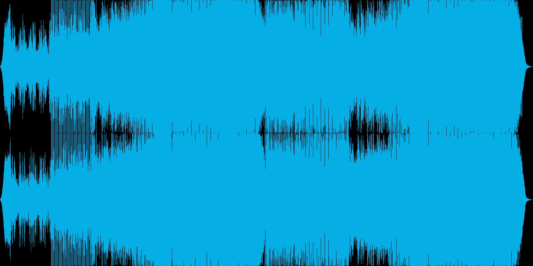 少し切なく勢いの在るハウスミュージック。の再生済みの波形