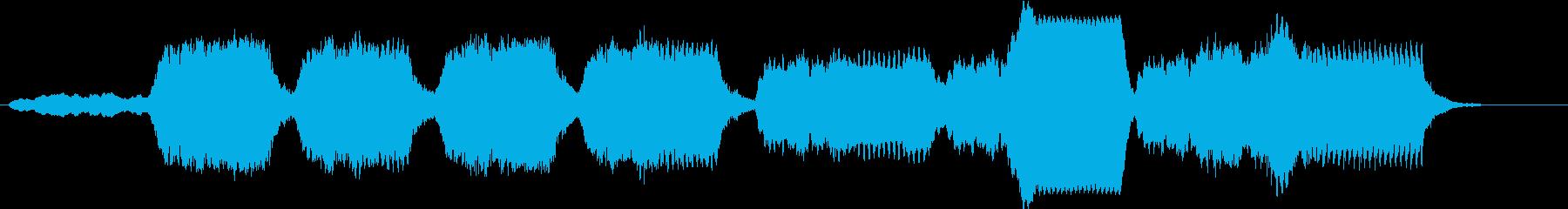 暗い森に迷い込んだようなチェロ曲の再生済みの波形