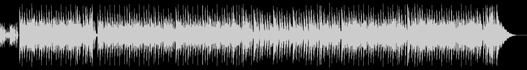 夏っぽいEDM系ボサノバチックBGMの未再生の波形
