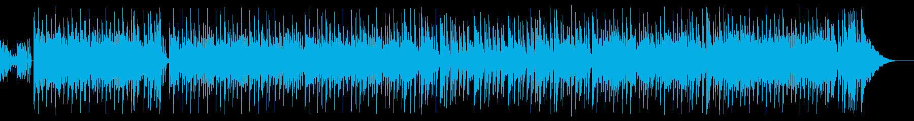 夏っぽいEDM系ボサノバチックBGMの再生済みの波形