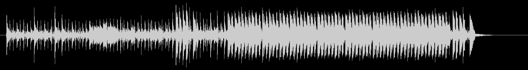 近未来的で不思議なシンセビートジングルの未再生の波形