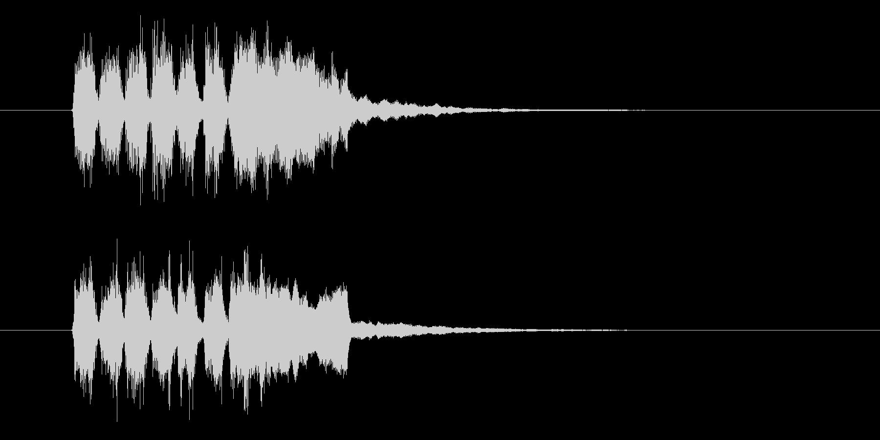 チャララン(発表、登場)の未再生の波形