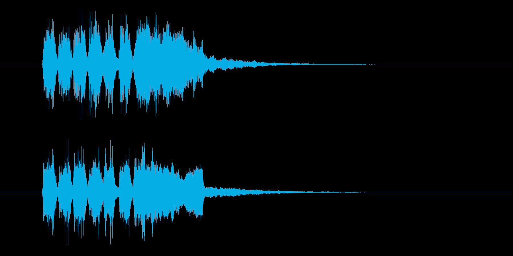 チャララン(発表、登場)の再生済みの波形
