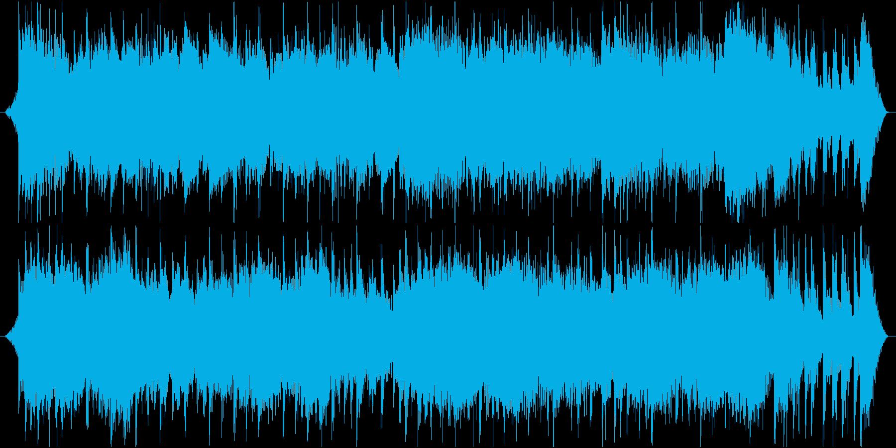 琴の旋律が美しい和とテクノのミックスの再生済みの波形