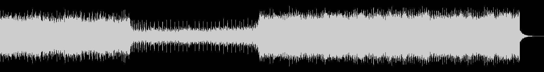 80's風のエレクトロBGMの未再生の波形
